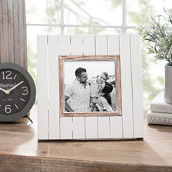 Cream Shiplap Picture Frame, 5x5