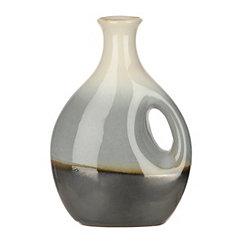 Blue Slate Ceramic Jug Vase