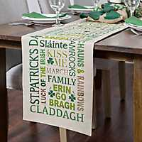 St. Patrick's Day Table Runner