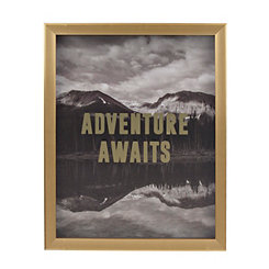 Gold Adventure Awaits Shadowbox