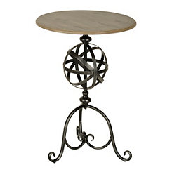 Mila Sphere Accent Table