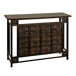 Arianna Copperbulk Console Table