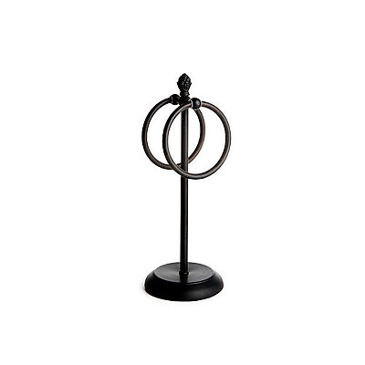 Bronze Finial Ring Towel Holder