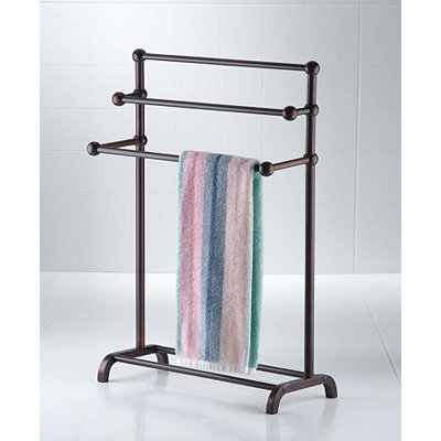 Bronze Deluxe 3-Tier Towel Valet