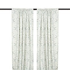 Blue Anaya Paisley Curtain Panel Set, 108 in.