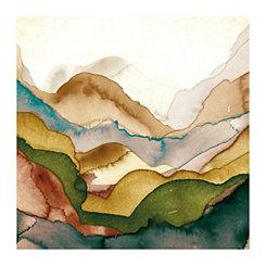 Emerald Quartz II Canvas Art Print