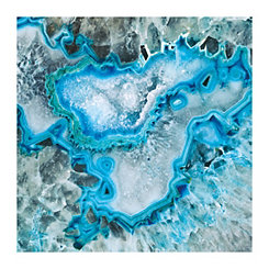 Ice Crystal Geode Canvas Art Print