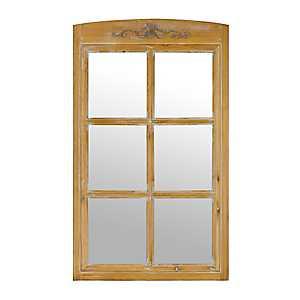 Windsor Windowpane Decorative Wall Mirror