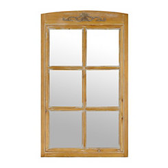 Windsor Windowpane Decorative Wall Mirror