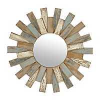 Cora Planks Wooden Mirror