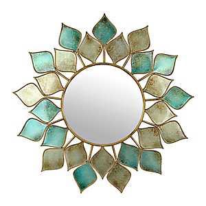 Pixie Turquoise Decorative Mirror