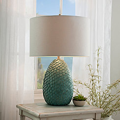 Khaleesi Blue Table Lamp