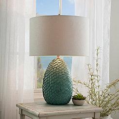 Khaleesi Blue Table Lamp