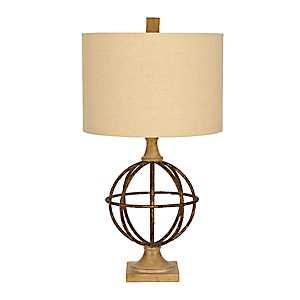 Barrick Metal Sphere Table Lamp