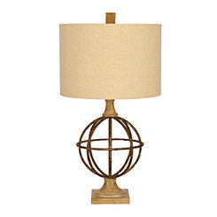 Barrick Metal Sphere Table Lamp