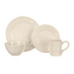 Taylor White 16-pc. Dinnerware Set