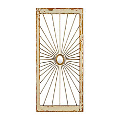 Gold Ring Burst Wall Plaque