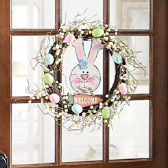 Welcome Bunny Wreath
