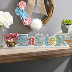 Cutout Happy Easter Tabletop Sign