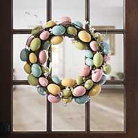 Easter Egg and Moss Wreath