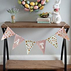 Easter Patterned Pennant Banner