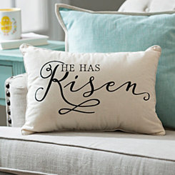 He Has Risen Pillow