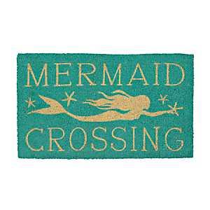 Mermaid Crossing Doormat