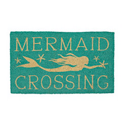 Mermaid Crossing Doormat