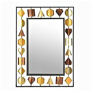 Metallic Gems Framed Mirror, 26x36 in.