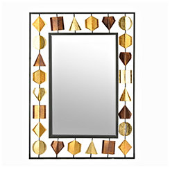 Metallic Gems Framed Mirror, 26x36 in.