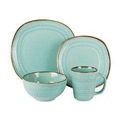 Turquoise Tallulah 16-pc. Dinnerware Set
