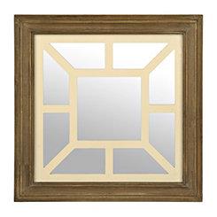 Vintage Geometric Square Decorative Mirror