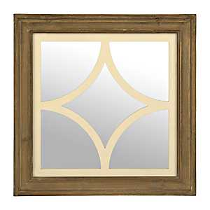 Vintage Curved Square Decorative Mirror