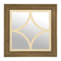 Vintage Curved Square Decorative Mirror