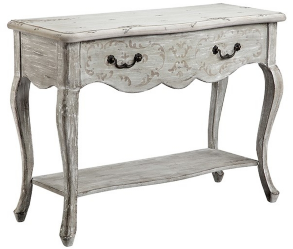 Ordinaire Scalloped Scroll Console Table
