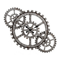 Industrial Gears Wall Clock