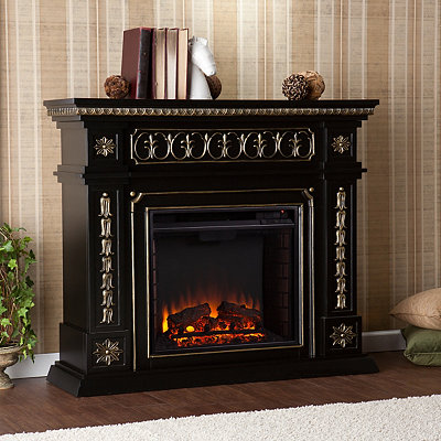 Black Feeley Electric Fireplace