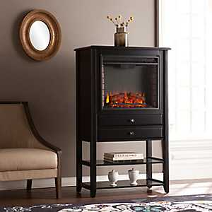 Oglee Electric Fireplace and Storage Tower