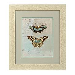 Blue Butterflies I Framed Art Print