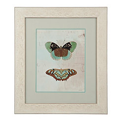 Blue Butterflies II Framed Art Print