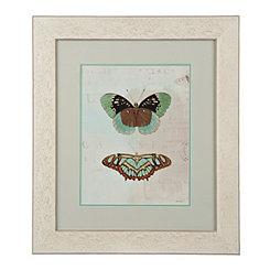 Blue Butterflies II Framed Art Print