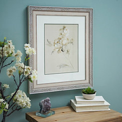 Ivory Bloom I Framed Art Print