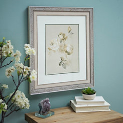 Ivory Bloom II Framed Art Print