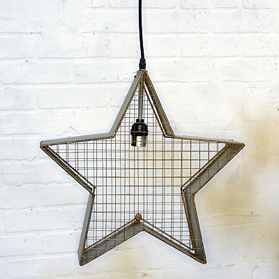 Metal Star Pendant Light
