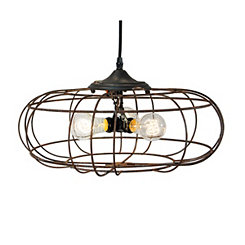 Metal Industrial Fan Pendant Light