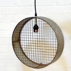 Metal Circle Pendant Light