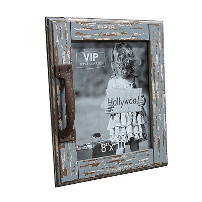 Rustic Barn Door Picture Frame, 8x10