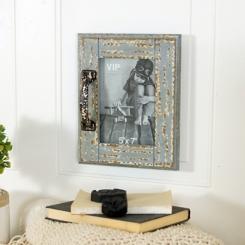 Rustic Barn Door Picture Frame, 5x7