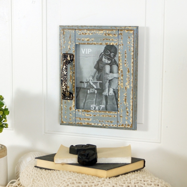 rustic barn door picture frame 5x7