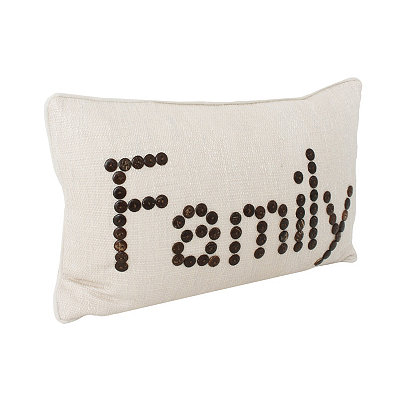Family Natural Catalina Pillow